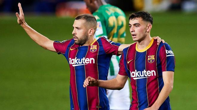 Dembélé y Pedri, titulares ante el Atlético