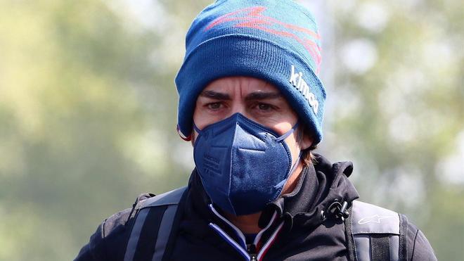 Alonso, en Imola