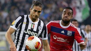 Martín Cáceres regresa a la Juventus
