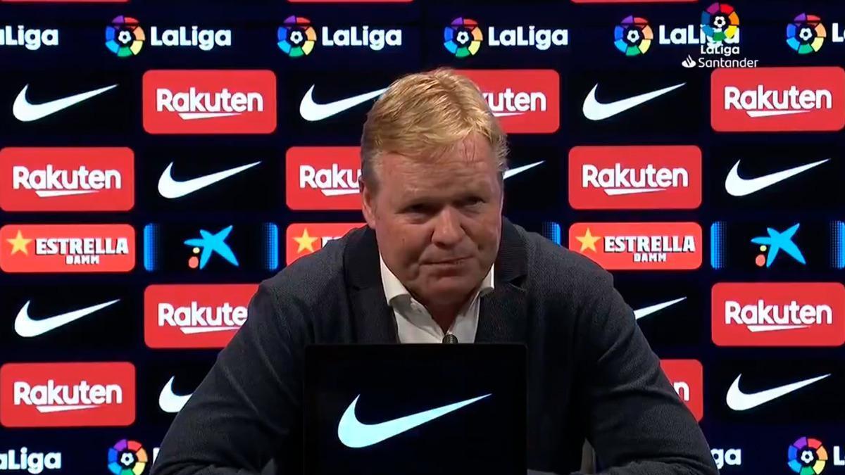 Koeman, y el Tiki-taki del Barça. La frase de la noche