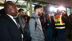 El Barcelona ya está en Johannesburgo