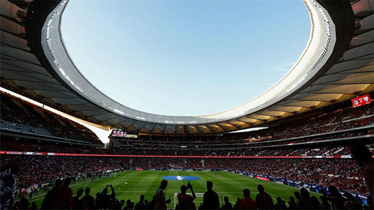 LALIGA   Atlético-Málaga: Así fue la inauguración del Wanda Metropolitano