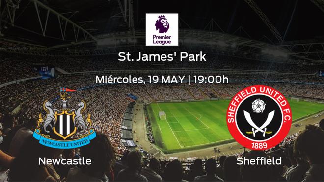 Previa del partido de la jornada 37: Newcastle United contra Sheffield United