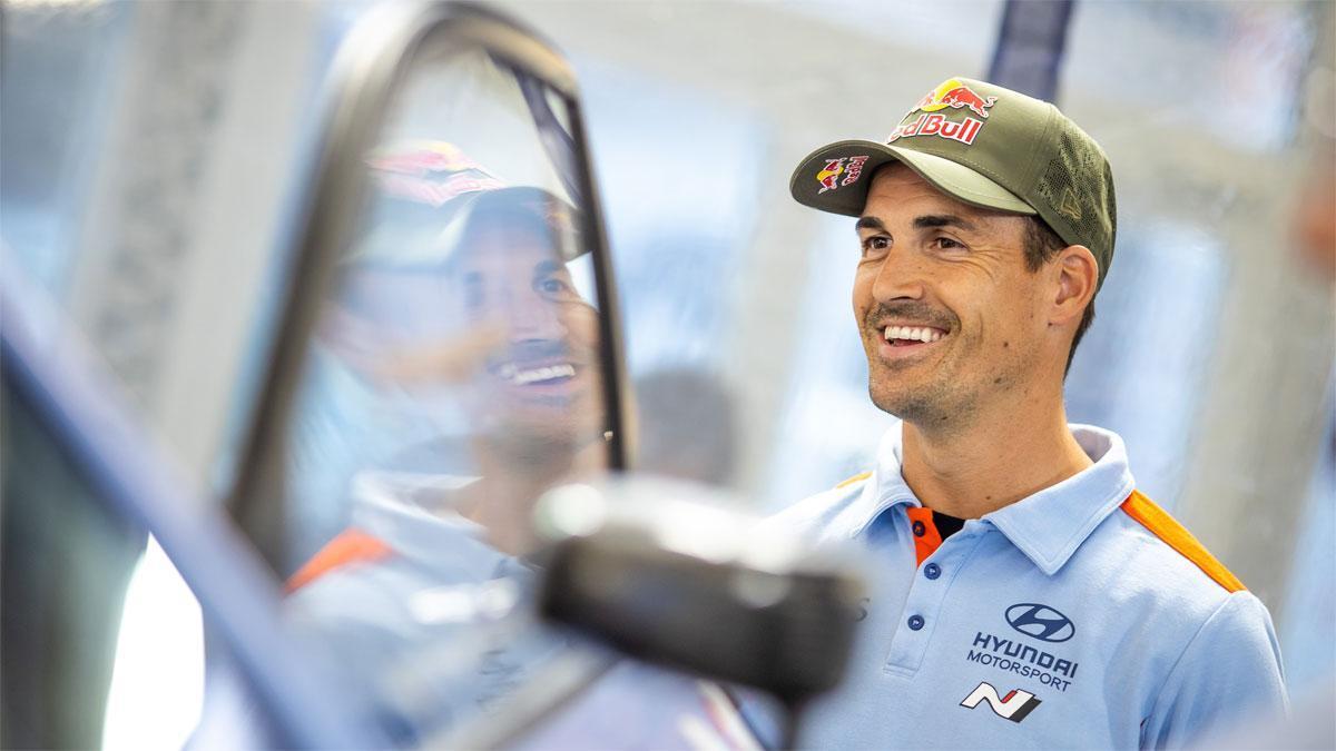 Dani Sordo seguirá en Hyundai la próxima temporada
