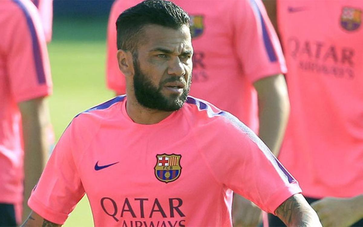 Dani Alves se quedará en el Barça salvo sorpresa