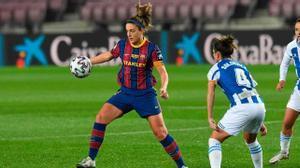 ¡Golazo de Alexia! Así ha sido el primer gol oficial de la historia del femenino en el Camp Nou