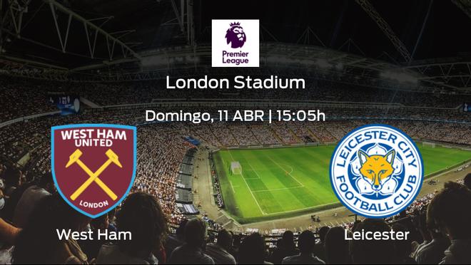 Previa del encuentro: West Ham - Leicester City