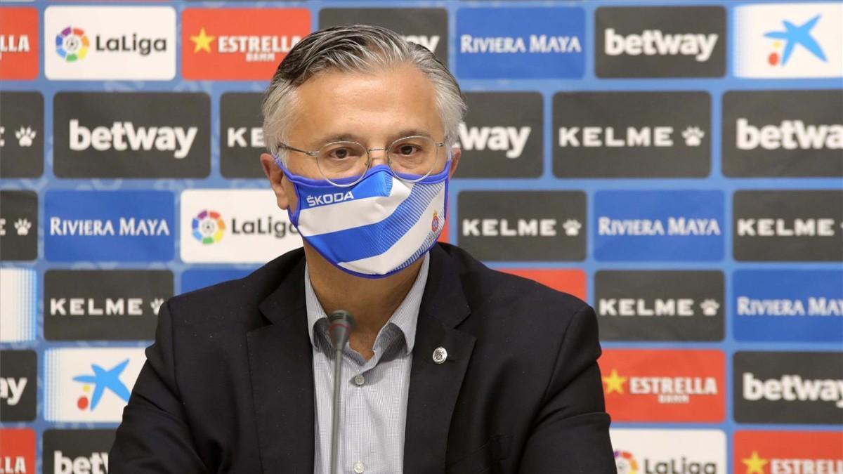 José María Durán, consejero delegado del Espanyol