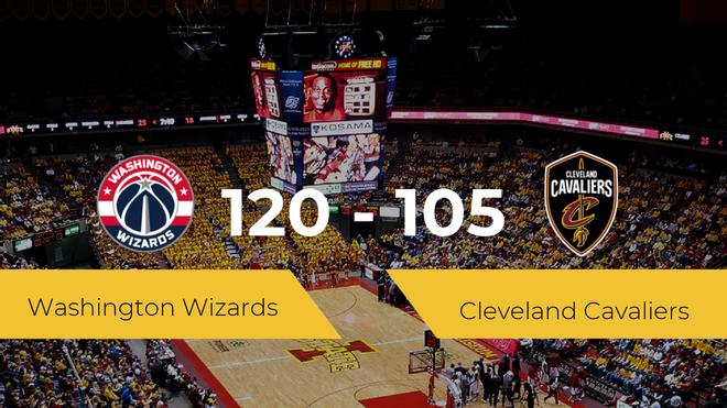 Washington Wizards se queda con la victoria frente a Cleveland Cavaliers por 120-105
