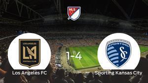 El Sporting Kansas City le arrebata los tres puntos al Los Angeles FC (1-4)