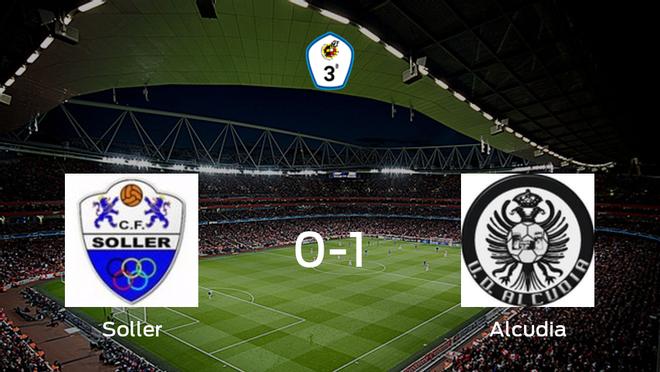 El Alcudia consigue los tres puntos tras derrotar 0-1 al Soller