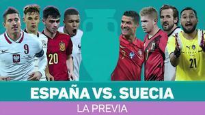 España vs. Suecia, la previa