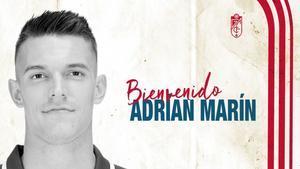 Adrián Marín, fichaje del Granada para el lateral izquierdo