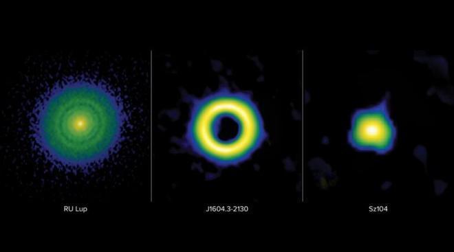 Los discos planetarios sin huecos indican supertierras que podrían albergar vida