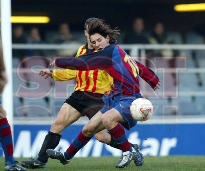 11.Leo Messi 2003-2004