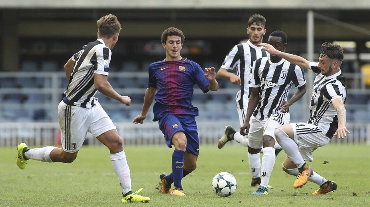 Mate jugó por última vez con el Barça la temporada 2017-2018; su próxima camiseta será la amarilla del Borussia