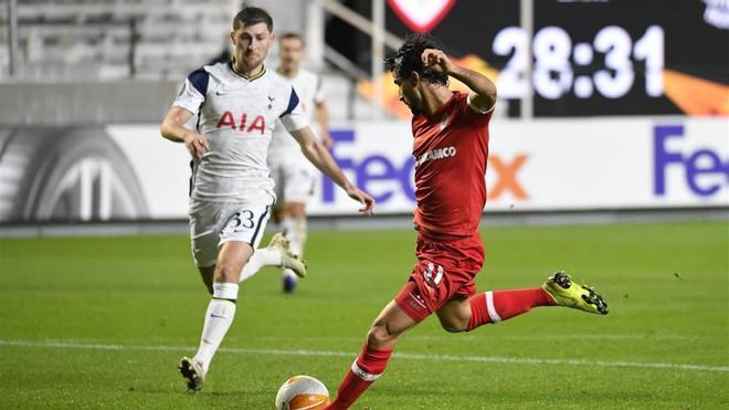 Rafaelov anotó el único tanto del encuentro tras un fallo de Ben Davies