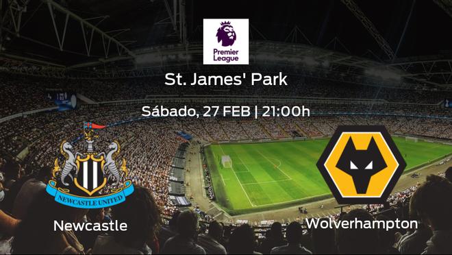 Previa del encuentro: el Newcastle United recibe en su feudo al Wolverhampton Wanderers