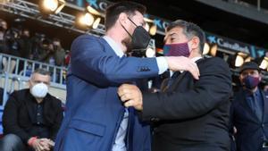 Laporta trabaja para seducir a Messi