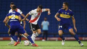 El resumen del empate entre Boca y River en el Superclásico