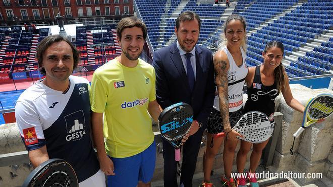 Presentación del torneo en Valladolid