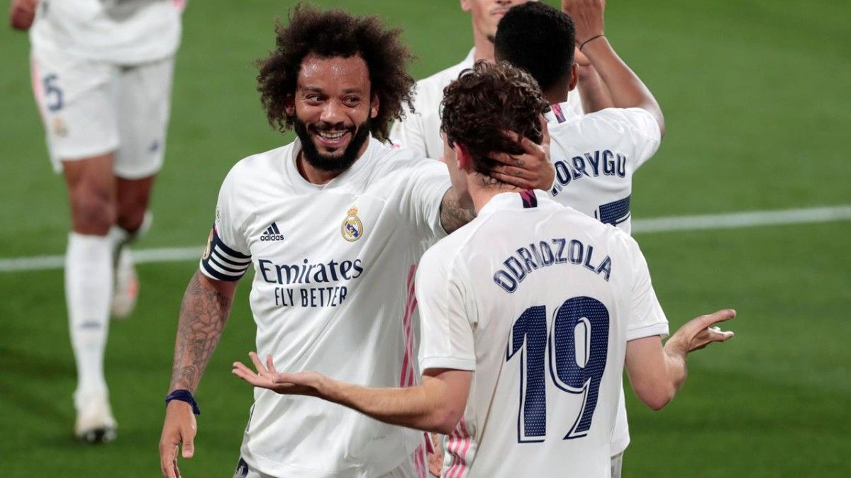 Marcelo: El Madrid nunca se rinde