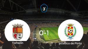 El Atlético de Pinto gana 0-1 a la AD Torrejón CF y se lleva los tres puntos