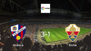 Elche unable to avoid narrow defeat away to Huesca (3-1)