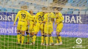El Alcorcón consigue los tres puntos en La Romareda