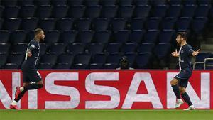 Bernat puso el 2-0 en la remontada del PSG ante el Dortmund