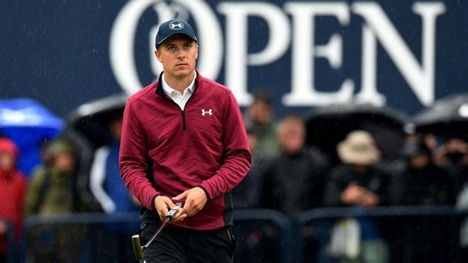 Jordan Spieth, líder en solitario en el British Open