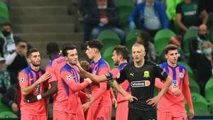 Golazo de Ziyech para marcar el tercero ante el Krasnodar