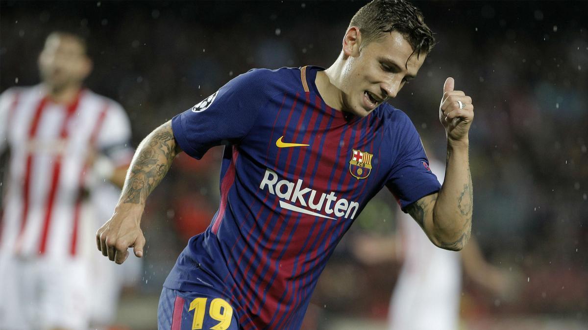 LACHAMPIONS | FC Barcelona - Olympiacos (3-1): El gol de Digne