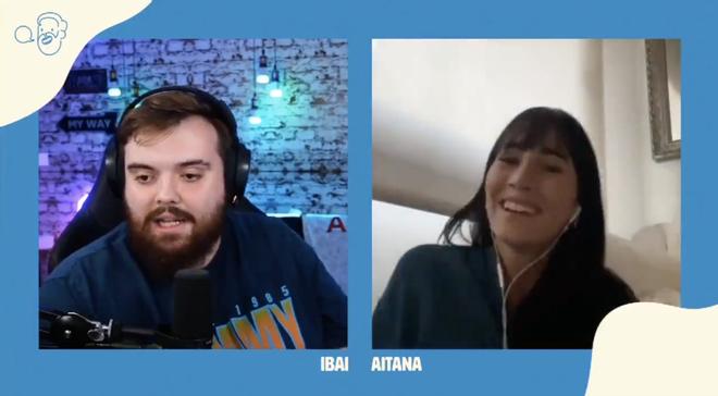 Aitana confiesa a Ibai que han echao a su novio de Élite