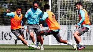 Así ha sido el entrenamiento del Real Madrid