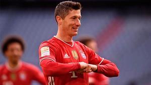 Lewandowski sigue liderando la Bota de Oro 2020/21