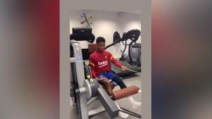 Ansu sigue avanzando en su recuperación