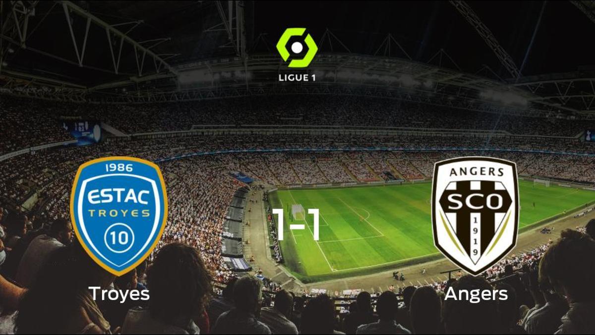 El Troyesy el SCO Angersse reparten los puntos y empatan 1-1