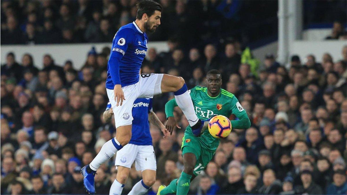 André Gomes, una de las sensaciones del Everton