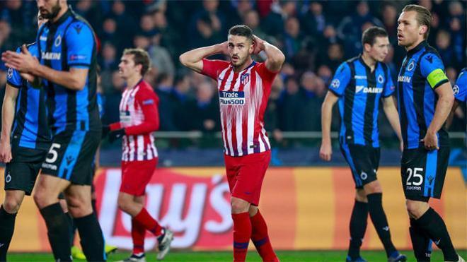 El Atlético se complica la Champions