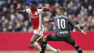 El Ajax empezó el año con un sólido triunfo ante el Sparta