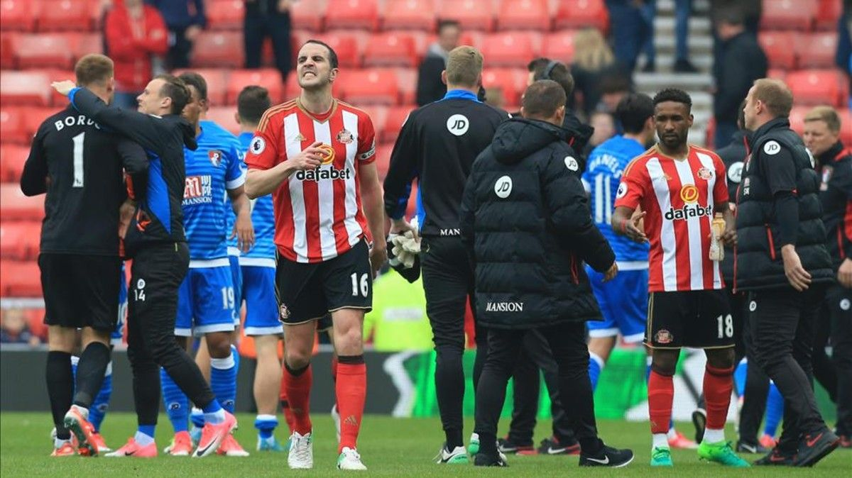 John OShea lamenta el descenso del Sunderland
