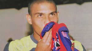 Ronaldo, el día de su presentación como jugador del FC Barcelona: 17 de julio de 1996, en Miami. Este sábado se cumplen 25 años