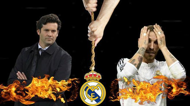 El Madrid pende de un hilo