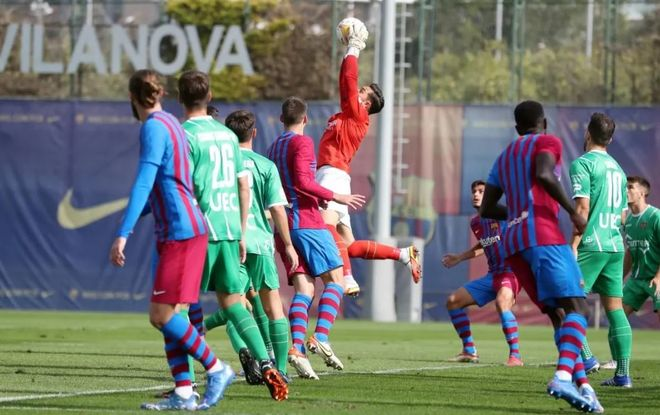 Partido secreto entre Barça y Cornellá