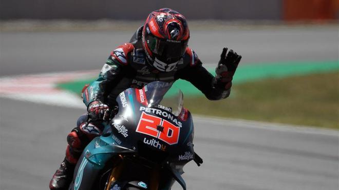 Quartararo, mejor rookie en MotoGP