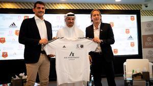 Iker Casillas abre un centro de entrenamiento para porteros en Dubái