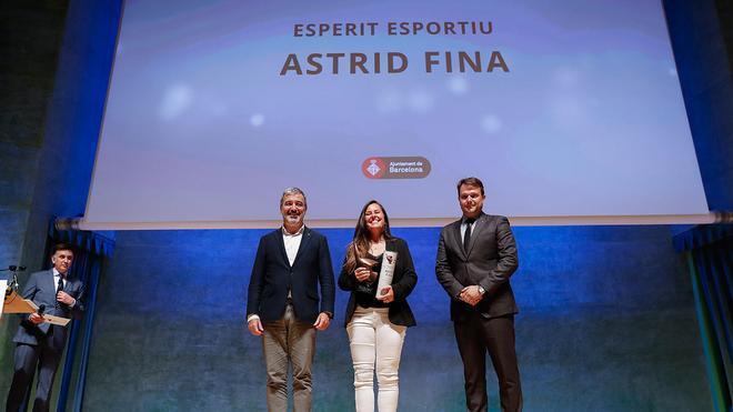 Astrid Fina: Premio Espíritu