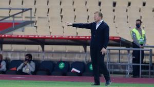 Ronald Koeman, entrenador del FC Barcelona, ya tiene problemas de lesiones en los inicios de la presente temporada