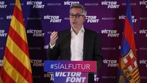Font, candidato a las elecciones